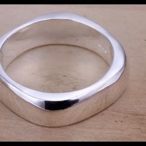 925 Stamped silver ring Size 7